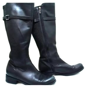 Blondo AquaProtect Black Leather Boots